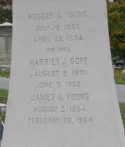 Harriet J. <I>Goff</I> Young