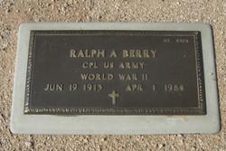 Ralph Andrew Berry