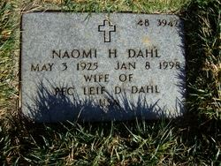 Naomi Hannah <I>Gross</I> Dahl