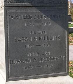 Sarah Susan <I>Phillips</I> Lovecraft