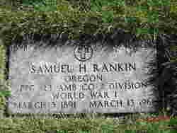 Samuel H Rankin