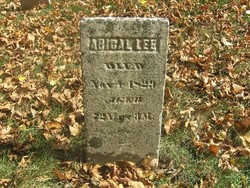 Abigail <I>Crafford</I> Lee