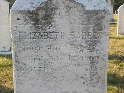 Elizabeth <I>Bowers</I> Barber