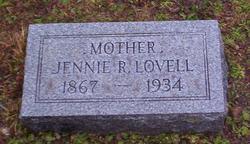 Jennie Rebecca <I>Stum</I> Lovell