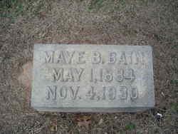 Maye B Bain