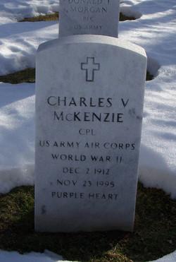 Charles V McKenzie