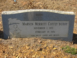 "Marvin Merritt ""Buddy"" Coffey"
