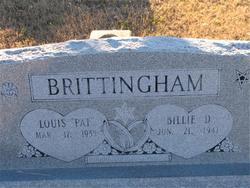Billie D. Brittingham