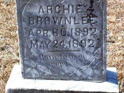 Archie Brownlee