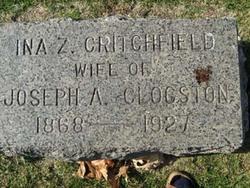 Ina Z. <I>Critchfield</I> Clogston