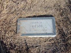 Abram P. Friesen