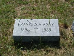 Frances A <I>Matthews</I> Asay