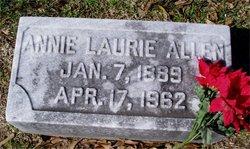 Annie Laura <I>Hays</I> Allen