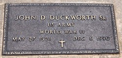 John Dee Duckworth, Sr