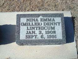 Nina Emma <I>Miller</I> Linthicum