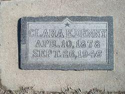 Clara Edith <I>Higley</I> Denny