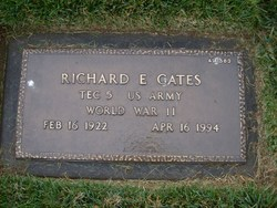 Richard E Gates