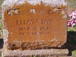Eliza Amanda <I>Hammond</I> Dye
