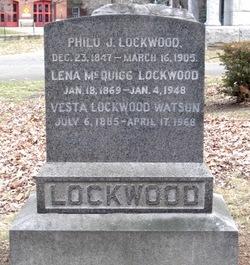 Lena <I>McQuigg</I> Lockwood