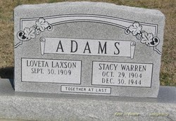 Loveta Laxson Adams