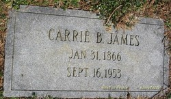 Carrie Belle <I>James</I> James