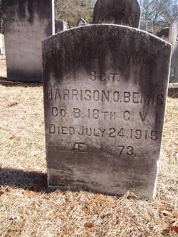 Sgt Harrison Otis Bemis