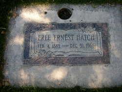 Erle Ernest Hatch