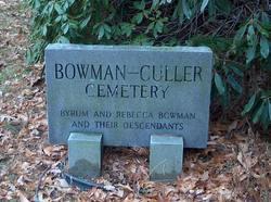 Bowman-Culler Cemetery