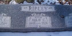"Alla Catherine ""Allie"" <I>Sparks</I> Ripley"