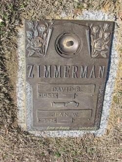 Jean W Zimmerman