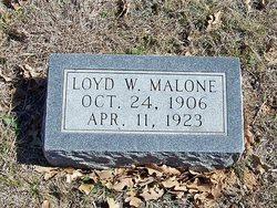 Loyd W. Malone
