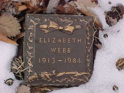"Elizabeth ""Libby"" <I>Jones</I> Webb"