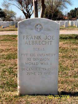 Frank Joe Albrecht