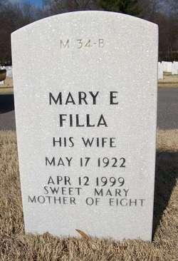 Mary E Filla