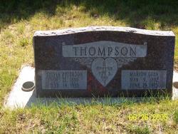Sylvia Ann <I>Peterson</I> Thompson