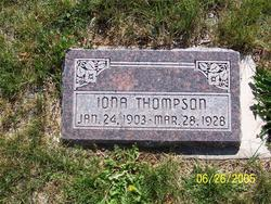 Iona <I>Thompson</I> Thompson