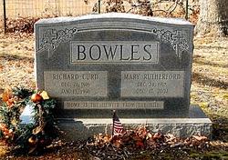 Mary Eugenia <I>Rutherford</I> Bowles
