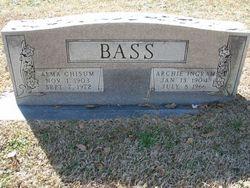 Alma Laura <I>Chisum</I> Bass