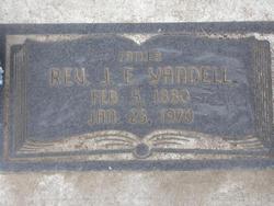 """Rev Joseph Elzie """"J. E."""" Yandell"""