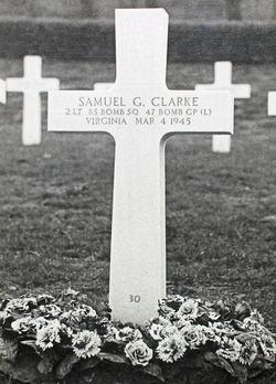 2LT Samuel Gary Clarke