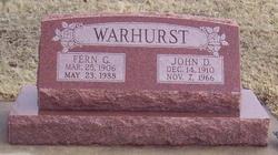 Fern G Warhurst