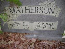 Clarence D.  Matt  Matherson