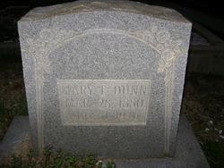 Mary Elizabeth <I>Stewart</I> Dunn