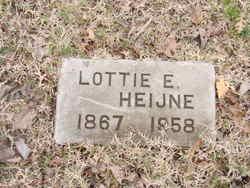 Lottie Effie <I>Hibbard</I> Heijne