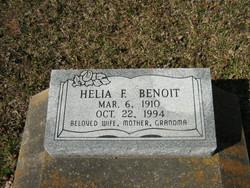 Helia F <I>Fontenot</I> Benoit