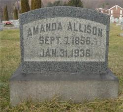 Mary Amanda <I>Bunting</I> Allison