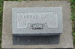 """Johanna R """"Hannah"""" <I>Melzer</I> Grebe"""