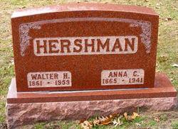 Anna Christine <I>Sager</I> Hershman
