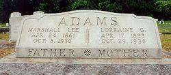 Marshall Lee Adams