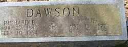 "Willie Rebecca ""Cousin Willie"" <I>Peyton</I> Dawson"